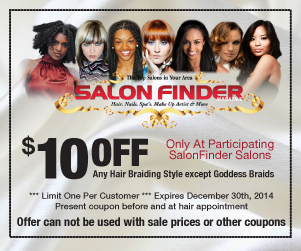 SalonFinder Coupon