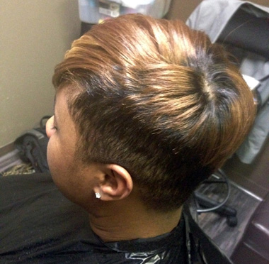 Cb s class act hair designs salon finder magazine for Act point salon review