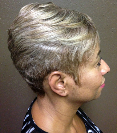 Cb 39 s class act hair designs for Act point salon review